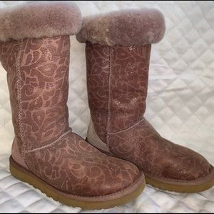 Ugg women's rose pink boots